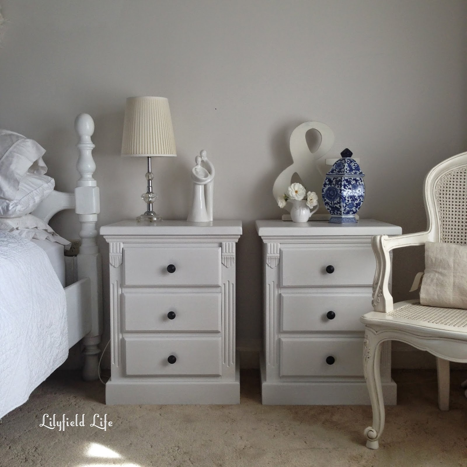 White Painted Furniture lilyfield life: custom furniture painting
