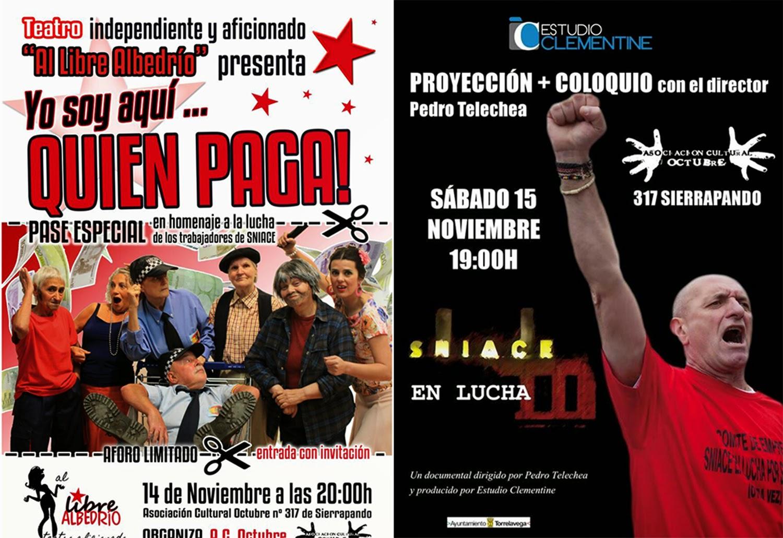 Sección Sindical UGT Sniace: Representación teatral en homenaje a la ...
