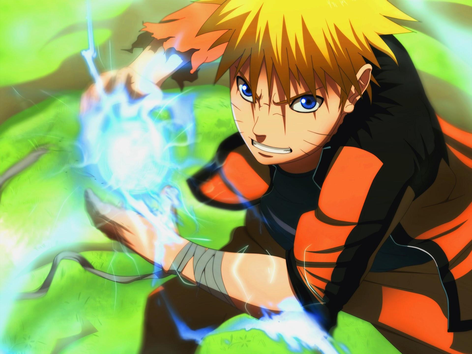 Naruto Rasengan 9e Wallpaper HD