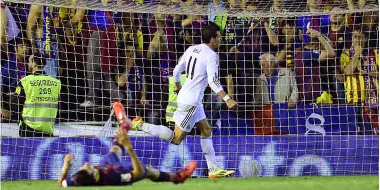 Gareth Bale Bawa Madrid Juara Copa del Rey