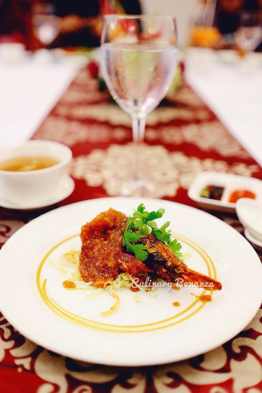 Wok-fried King Prawn with Ginger Spicy Sauce (www.culinarybonanza.com)