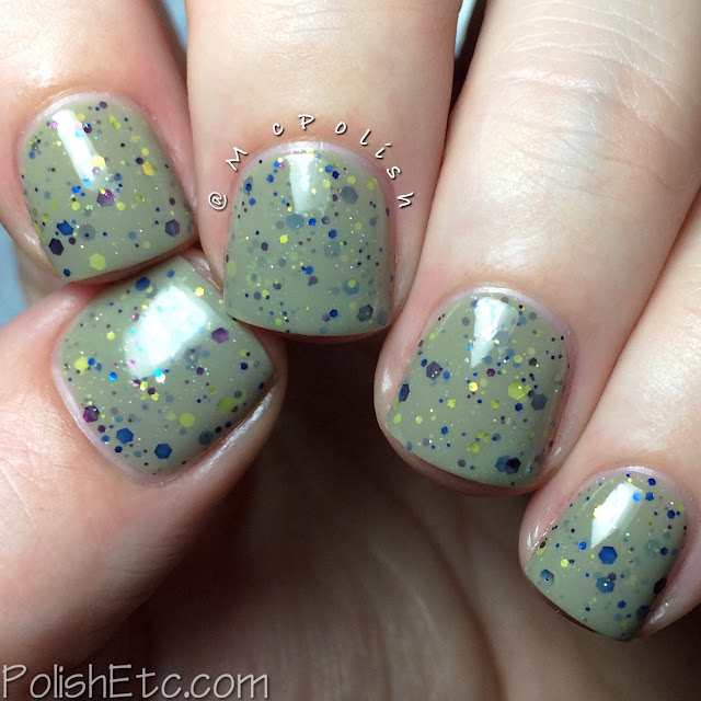 KBShimmer Fall 2015 Collection - Open Toad Shoes - McPolish