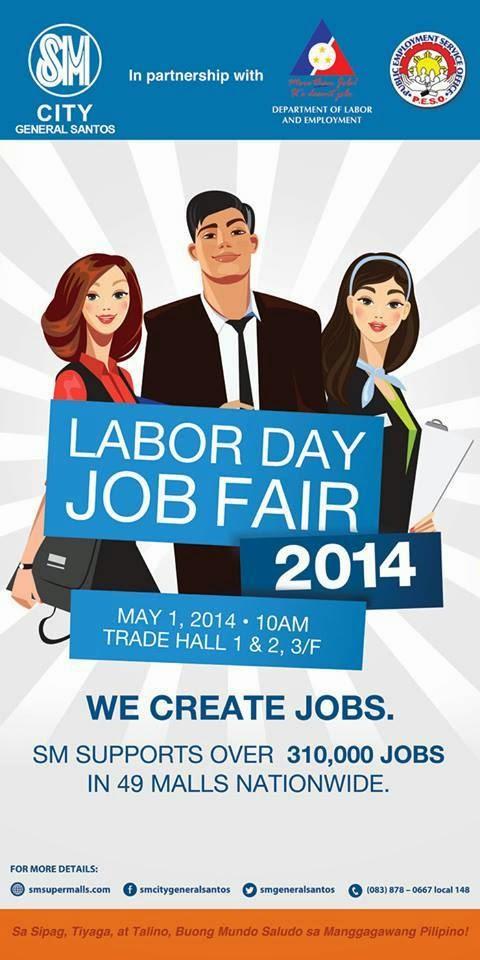 Labor Day Job Fair at SM CITY General Santos