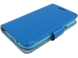 Leather Wallet Case Stand with Soft TPU for Samsung Galaxy Core i8260
