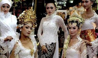 tips memilih model kebaya pengantin modern 2013 model kebaya pengantin