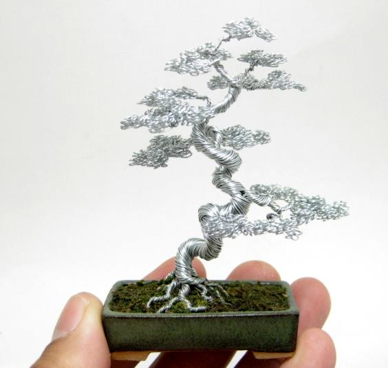 you go how to make twisted wire tree sculptures tree of life wire ...