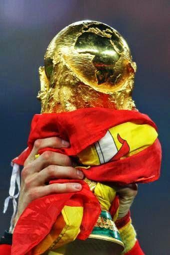 Orgullosos campeones del Mundial de Suráfrica 2010