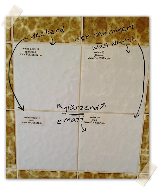 klebefliesen f r badezimmer. Black Bedroom Furniture Sets. Home Design Ideas