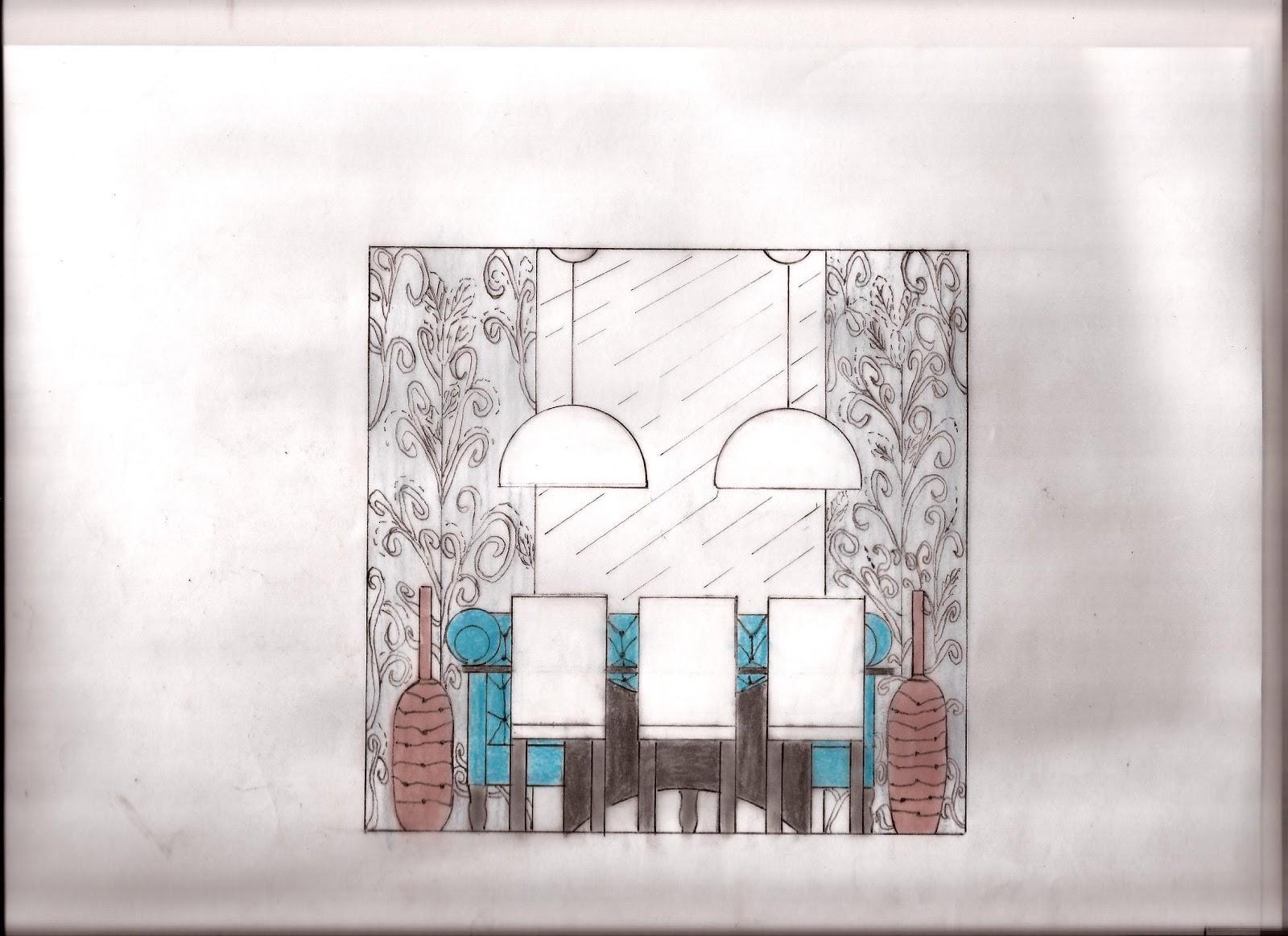 Sala de estar e jantar planta baixa id ias for Sala de estar vista desde arriba