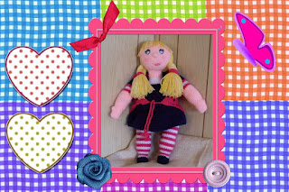 craftybegonia doll dolly abby cute yarn friend