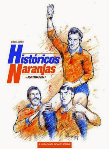 Los Históricos Naranjas ya tienen su libro