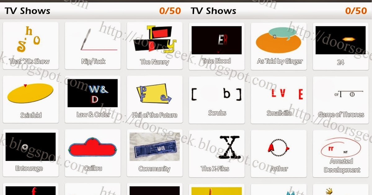 logo game guess the brand bonus tv shows doors geek
