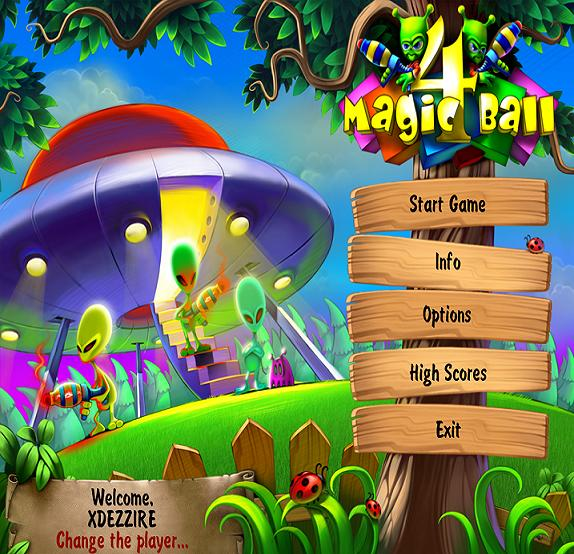 Magic ball full