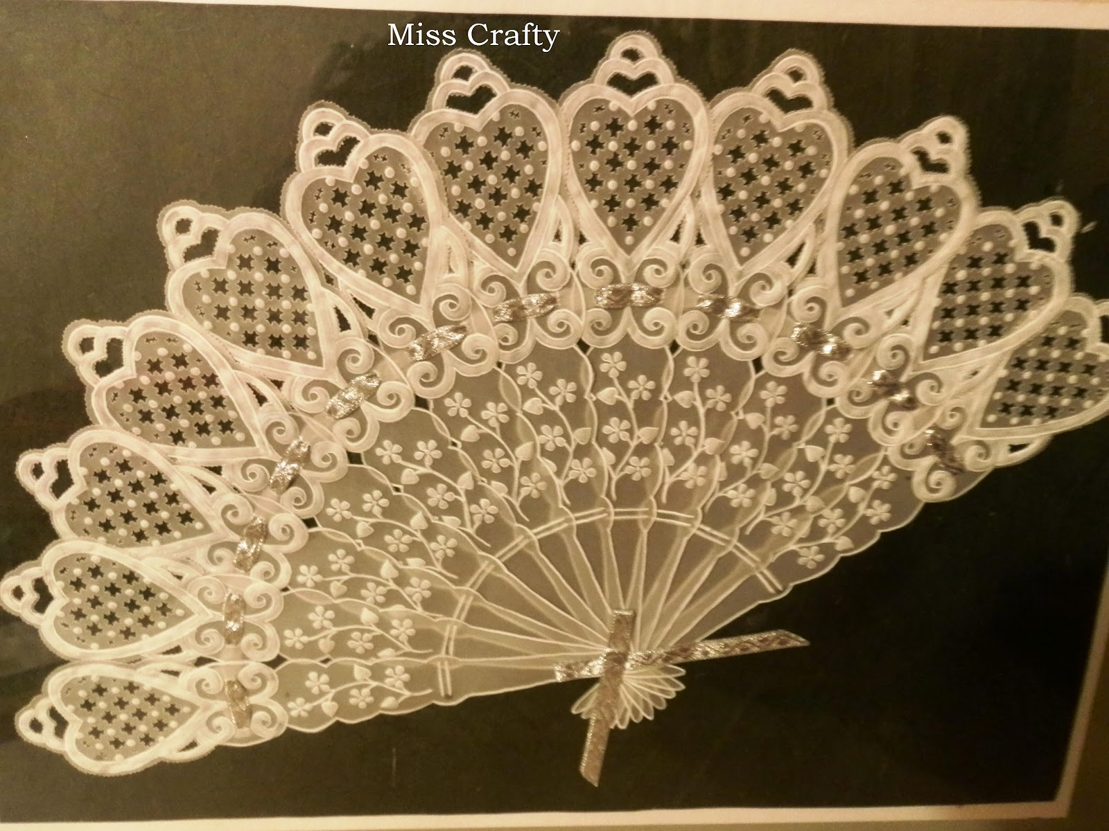 The Craft Gallery : Parchment Fan - Wall Decor