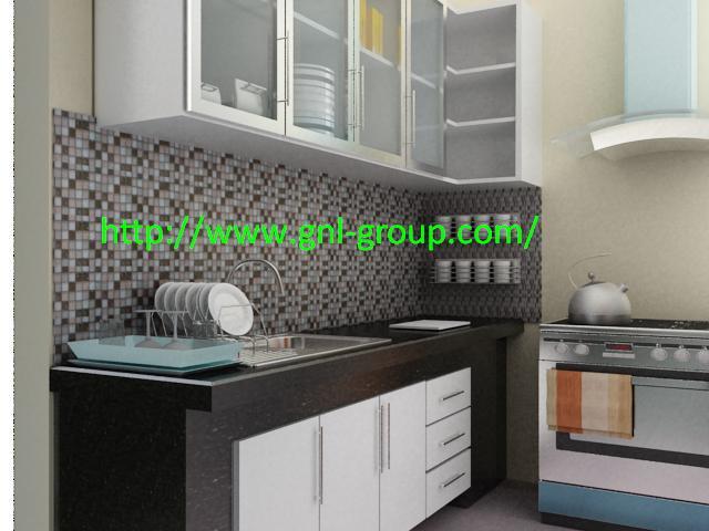 Kitchen Set Desain Kitchen Set Di Interior Rumah Anda