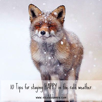Top tips for staying happy in the cold weather