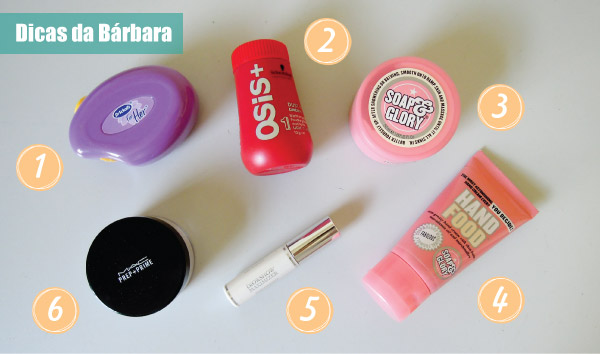 Dicas de produtos de Beleza - Dior, MAC, Soap&Glory, osis