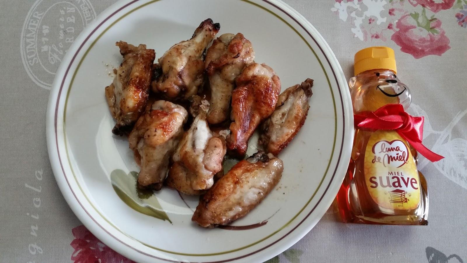 Alitas de pollo al horno con salsa barbacoa soja y miel for Salsa barbacoa ingredientes