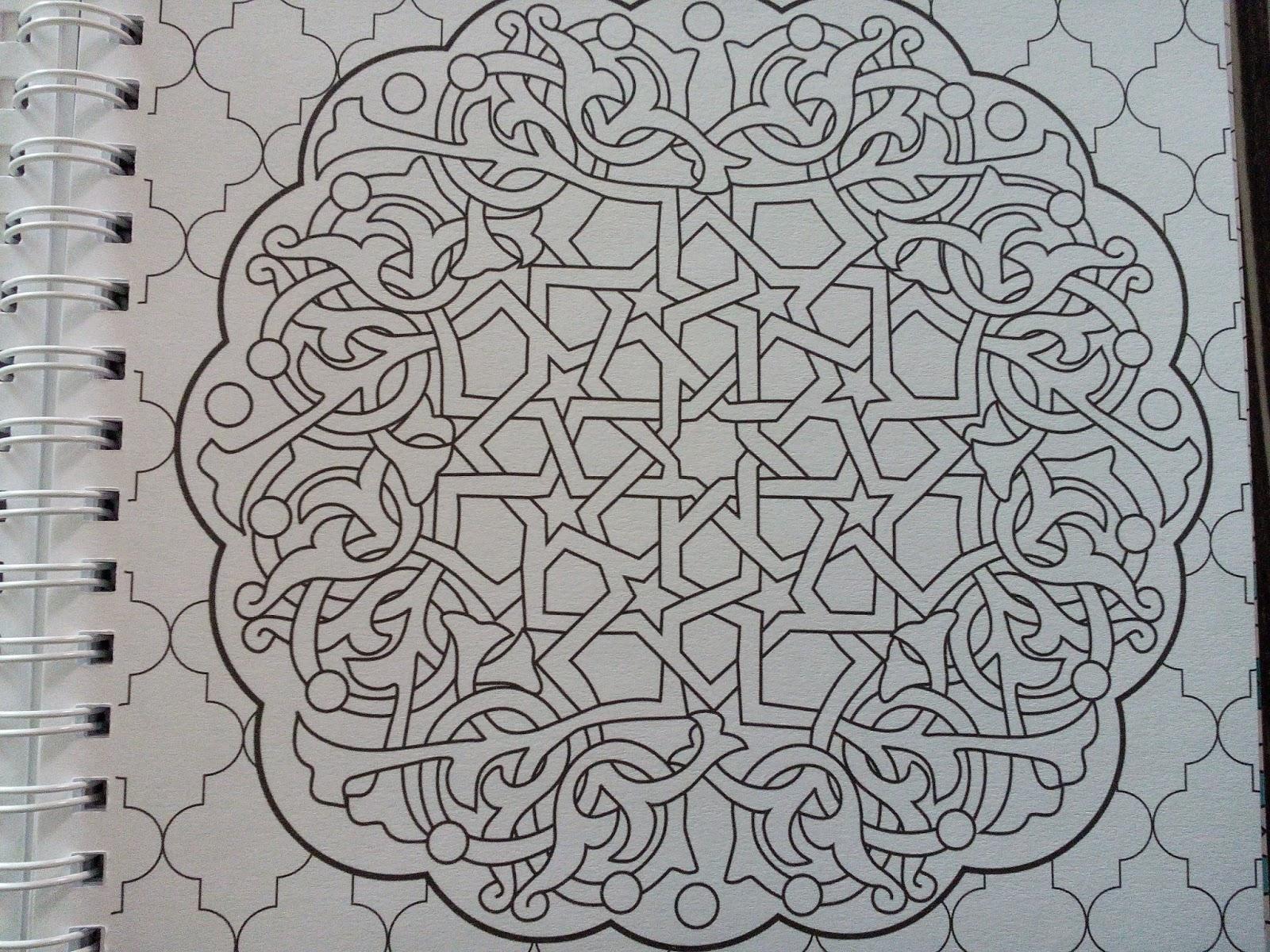 Sous le feuillage Chronique coloriage anti stress Mandalas navajos et Mandalas du Maroc ♥ ♥ ♥