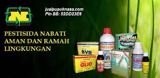 Produk Pestisida hayati untuk menanggulangi hama dan penyakit pada tanaman.