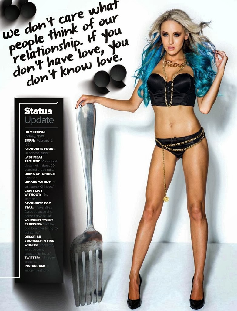 Imogen Anthony HQ Pictures Maxim Australia Magazine Photoshoot March 2014