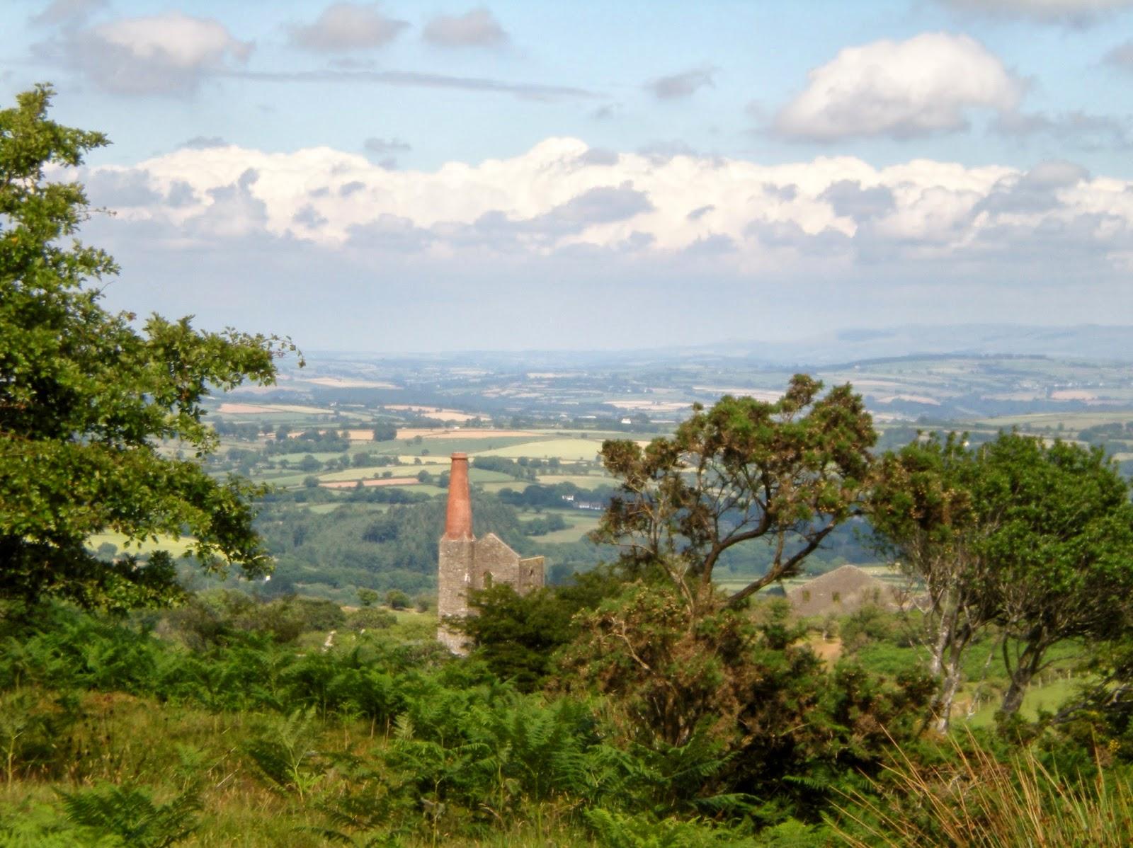 Bodmin Moor, mine working