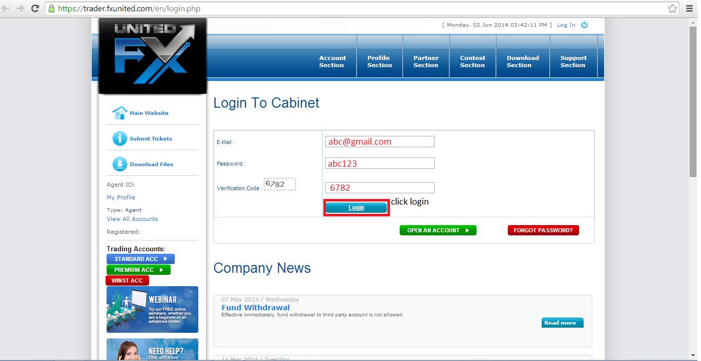 Cahaya Trader Forex: June 2014