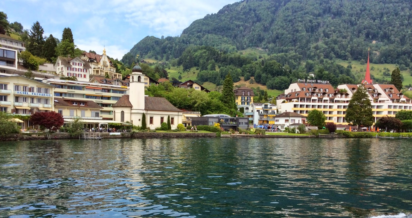 day trip to Mt.Rigi from Lucerne
