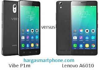 Harga dan Perbedaan Vibe P1m dengan Lenovo A6010