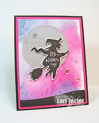 Best Witches card-designed by Lori Tecler/Inking Aloud-stamps from Lil' Inker Designs