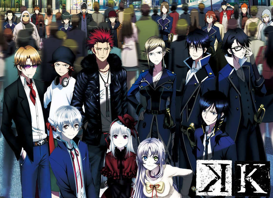 K Anime Characters Season 2 : K project