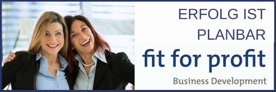 fit for profit - Erfolg ist planbar