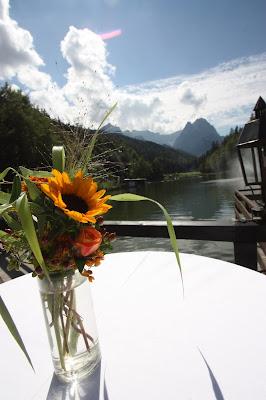 Sommerfarben-Hochzeit am Riessersee in Garmisch