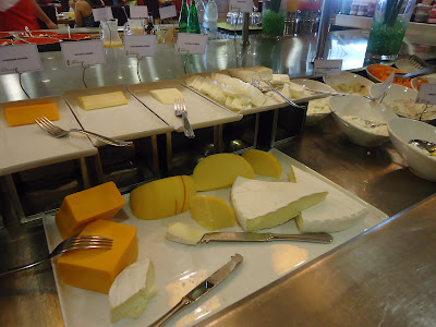 Cheese at Assymetri Restaurant, Raddison Blu Hotel Yas Island Abu Dhabi