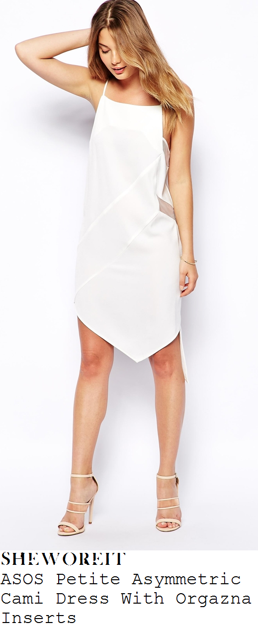 ferne-mccann-white-sleeveless-square-neckline-sheer-insert-asymmetric-dress-ibiza