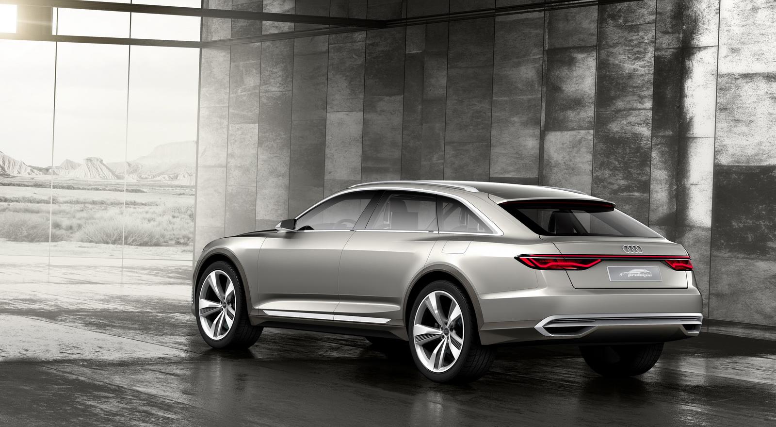 Audi Unveils Prologue Allroad Concept Ahead Of Shanghai Debut