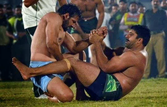 pakistan vs india kabaddi world cup match live score