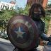 Sebastian Stan divulga a primeira imagem das filmagens de Capitão América: Guerra Civil