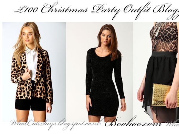 £100 Xmas Party Outfit Blogger Challenge