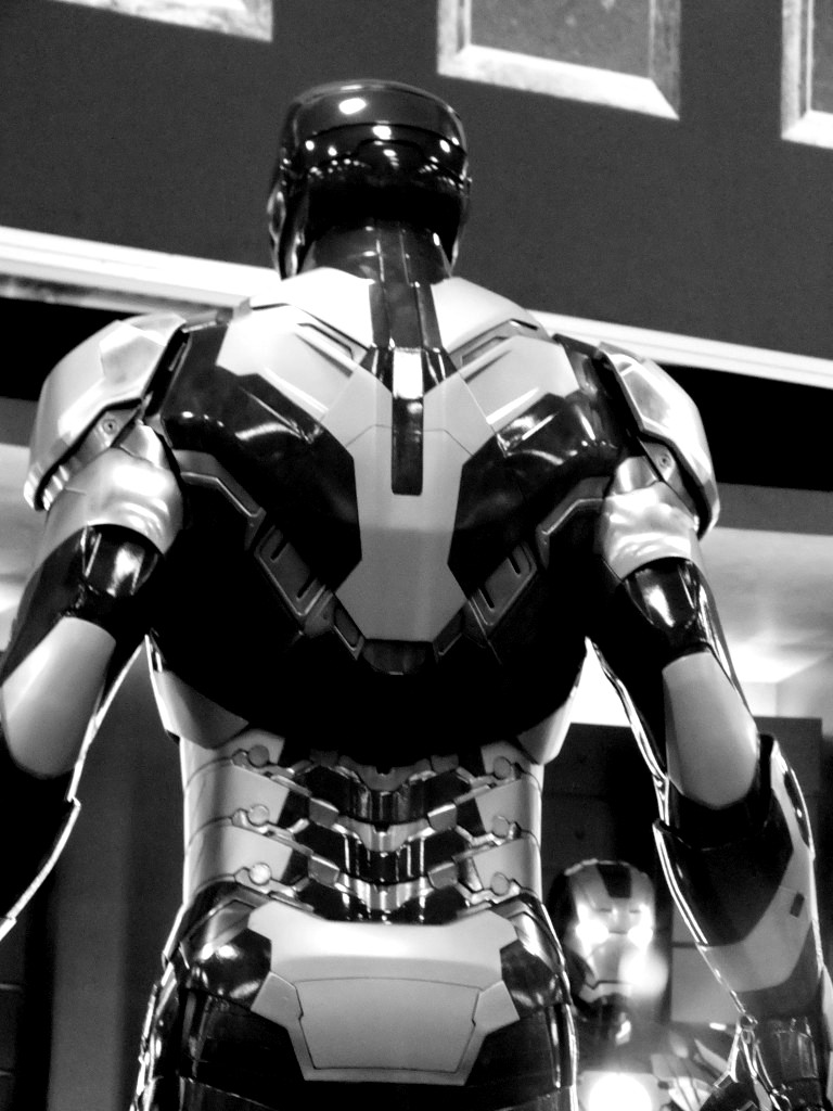 The gallery for --> Iron Man Black And White Wallpaper