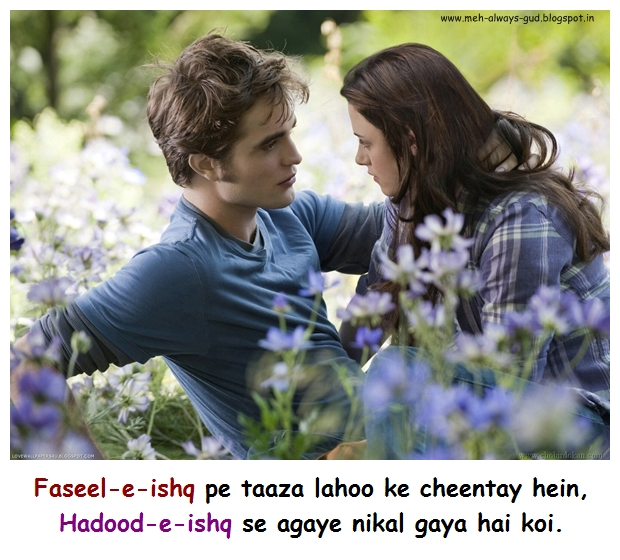 Faseel-e-ishq pe taaza lahoo ke cheentay hein, Hadood-e-ishq se agaye nikal gaya hai koi.