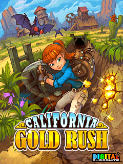 California Gold Rush 240x400 Touchscreen Java Games, LG KU990, S5230, S55620... jar