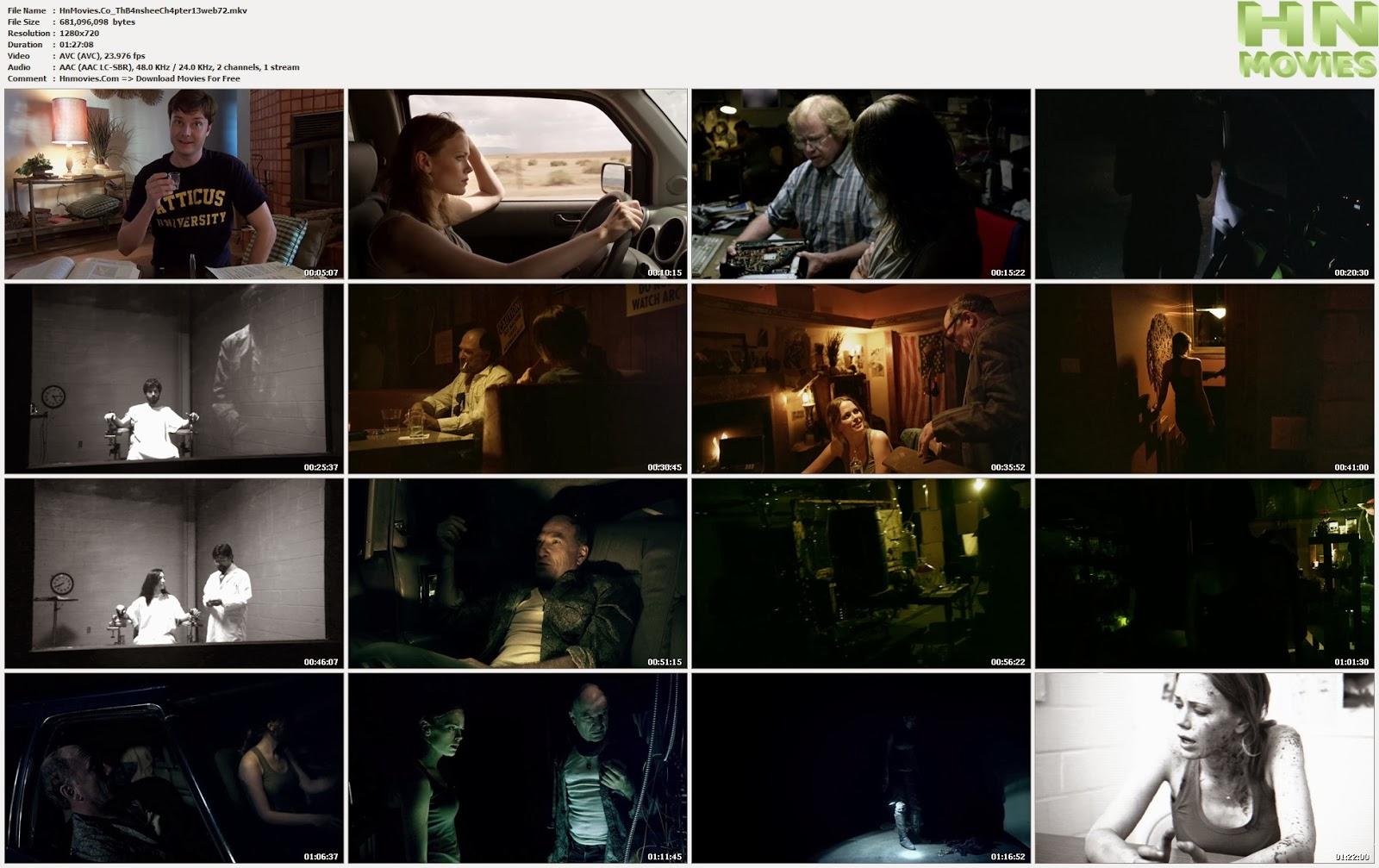 movie screenshot of The Banshee Chapter fdmovie.com
