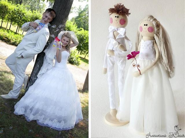 Куклы молодожены