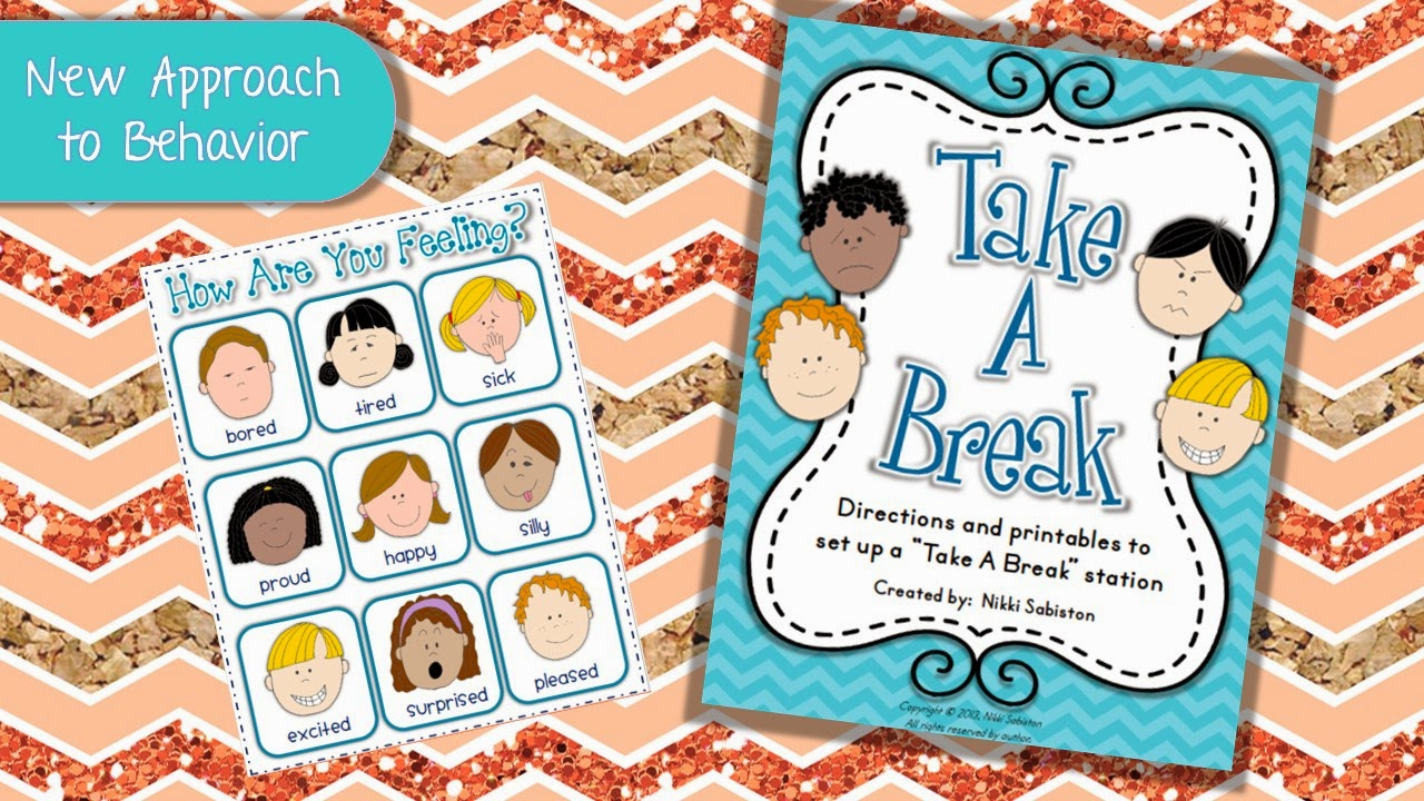 http://www.teacherspayteachers.com/Product/Take-A-Break-Behavior-Management-and-Self-Regulation-678756