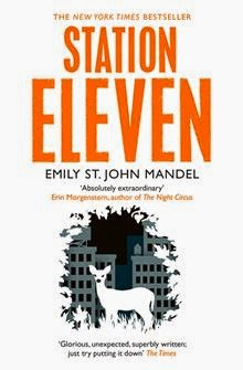 Book cover of Station Eleven by Emily St John Mandel