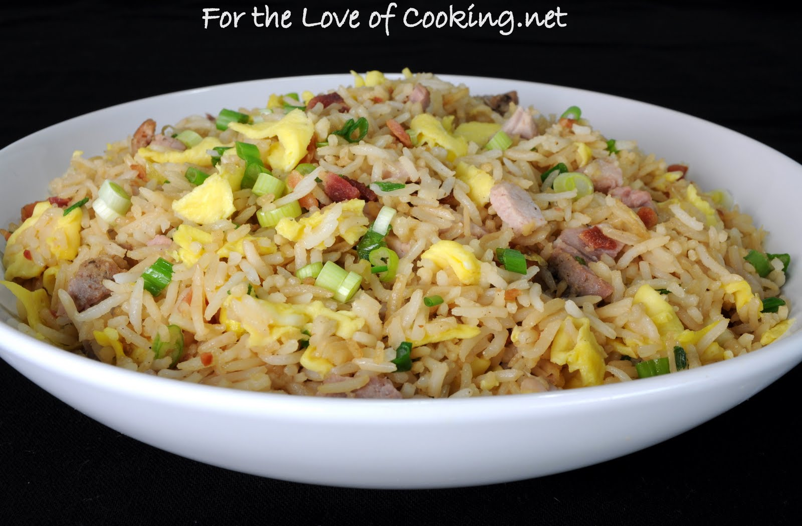 For the Love of Cooking: Pork Fried Rice