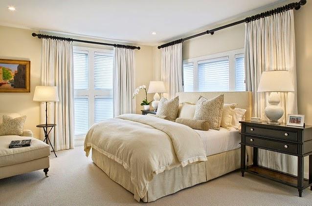 Rideaux chambre coucher rideaux et voilages - Modele rideaux chambre a coucher ...
