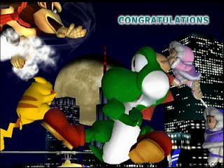 yoshi melee allstar congratulations