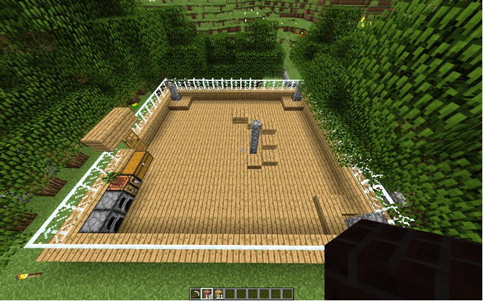 Lastra Di Legno Minecraft : I miei mondi di minecraft grattacielo epico su minecraft fasi di